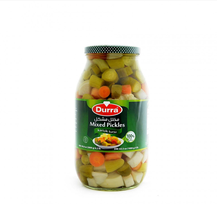 Durra Mixed Pickles 2800g