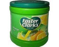 Foster & Clark Instant Drink 2,5kg Orange