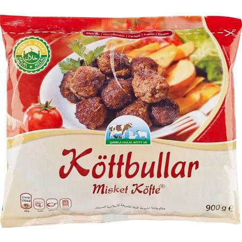 Köttbullar Qibbla Halal 900g