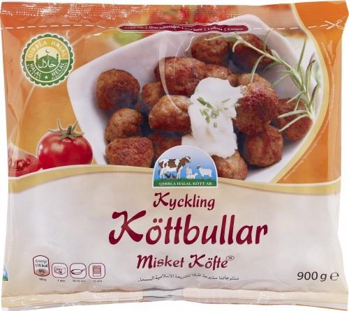 Kyckling Köttbullar Qibbla Halal 900g