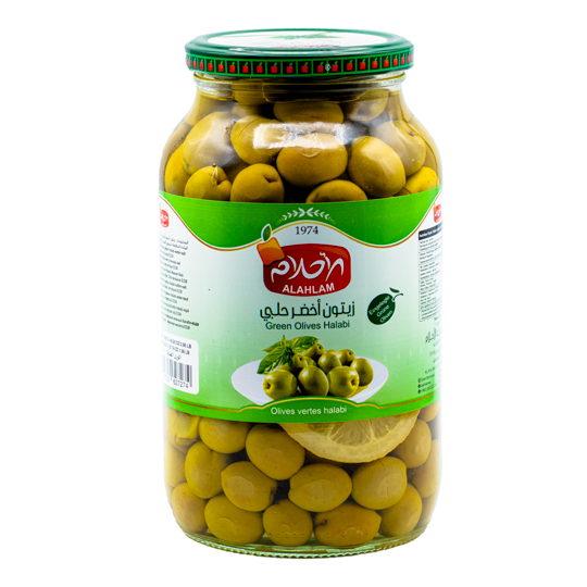 AH Gröna Oliver Halabi 900g
