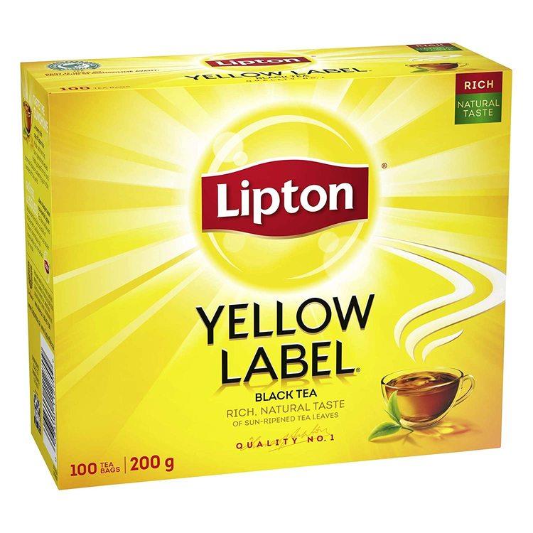 Te Lipton yellow 100st 200g