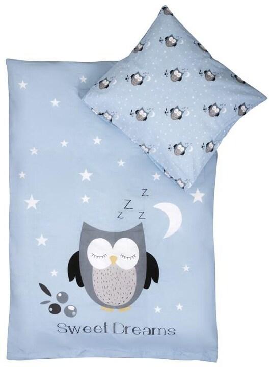 Baby Sovset - paket med filt, täcke, lakan och örngott.