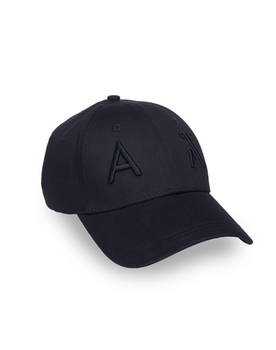 ELUF BLACK BASEBALL CAP