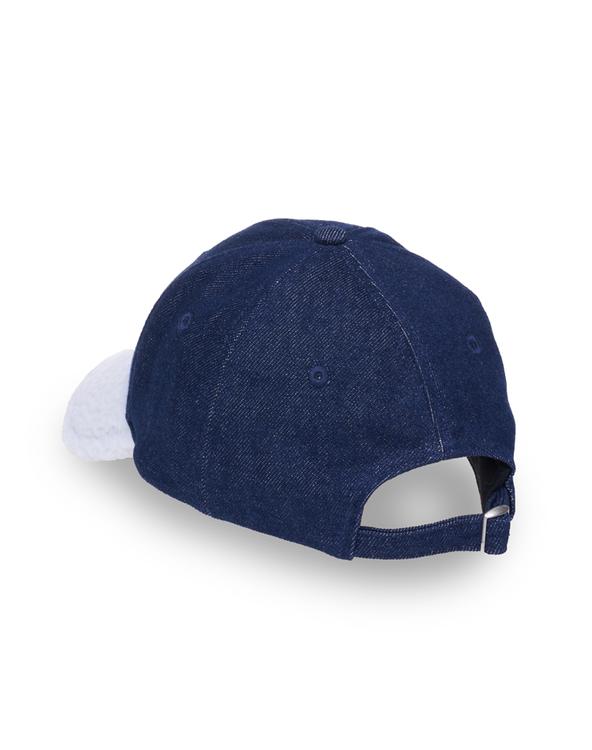 TUE BLUE DENIM FLEECE BASEBALL CAP