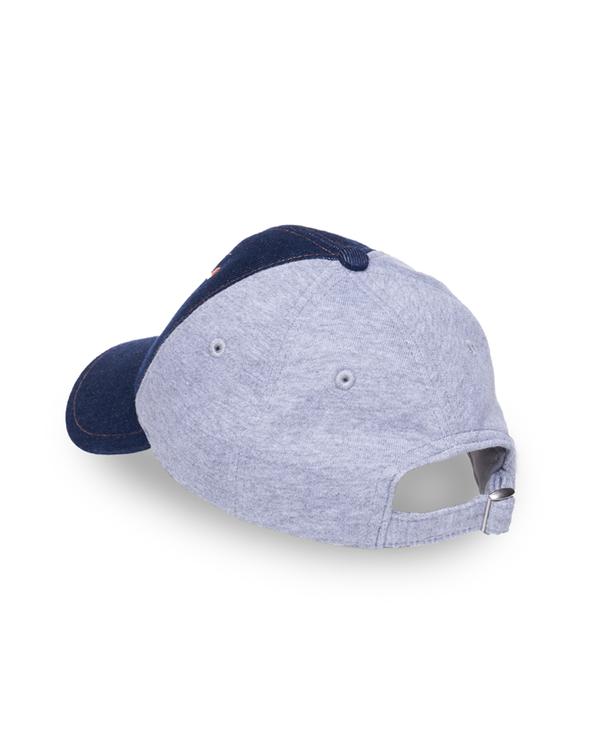 OLUF BLUE DENIM BASEBALL CAP