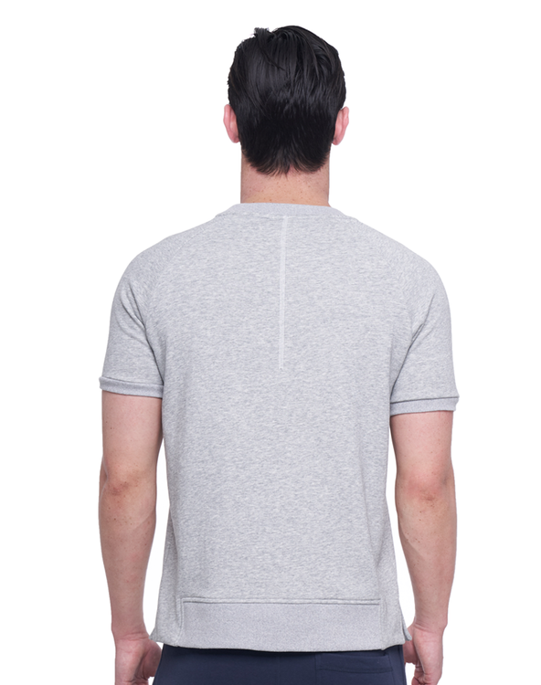 MODI GREY SHORT SLEEVE SWEAT