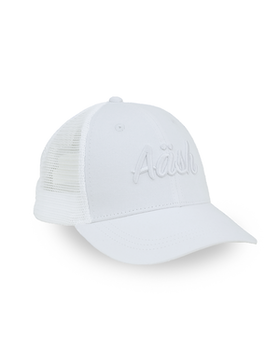 ASK WHITE TRUCKER CAP