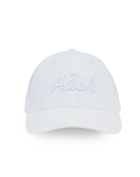 ASK WHITE TRUCKER CAP