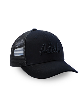 ASK BLACK TRUCKER CAP
