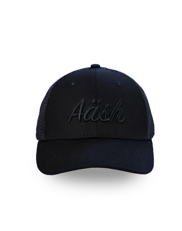 ASK BLACK TRUCKER CAP