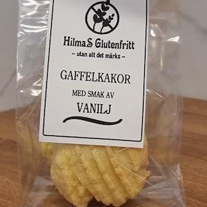 Gaffelkakor med smak av Vanilj