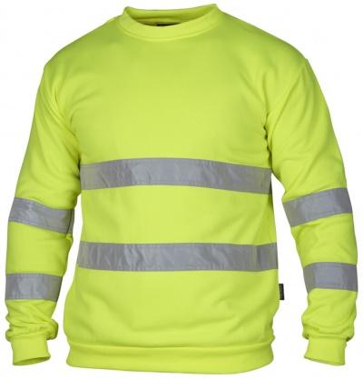 TS Sweatshirt Varsel Gul