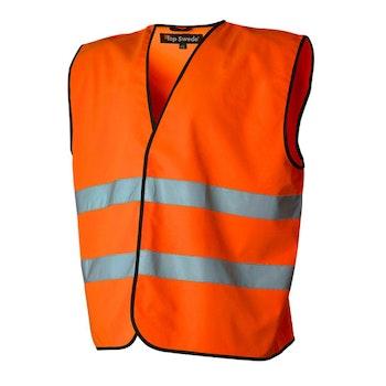 TS Varselväst orange klass 2 One size