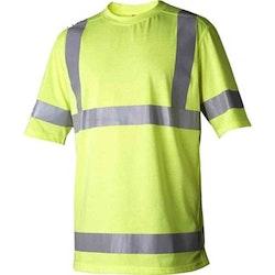 Varsel T-shirt gul