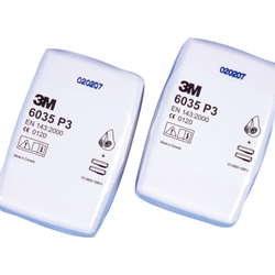 Partikelfilter 6035F P3 2-pack