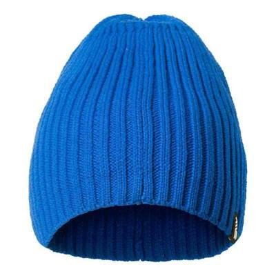 Beanie cotton cob blue