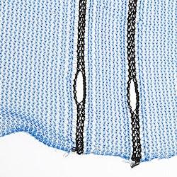 Ställningsnät 3,2 x 100 m, 60 g/m2 (blå)