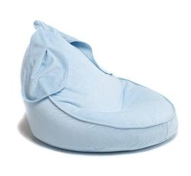 Bunny- blå saccosäck & sittsäck