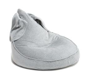 Kaninis - grå saccosäck & sittsäck