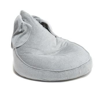 Kaninis - grå saccosäck