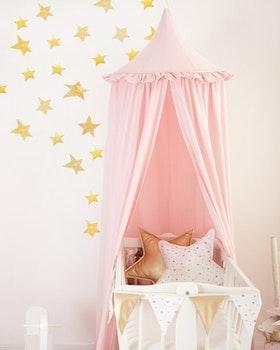 Volang - puderrosa sänghimmel