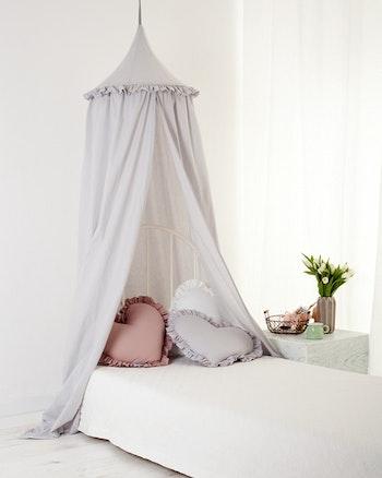 Volang - ljusgrå sänghimmel