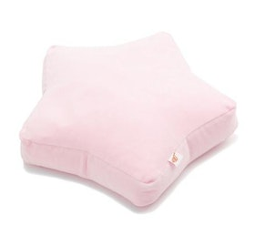 Rosa Stjärna - sittkudde för barn