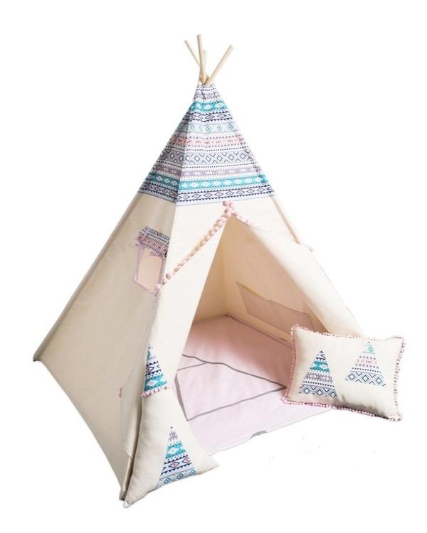 Ciqala rosa indiantält för barn Utvecklande och