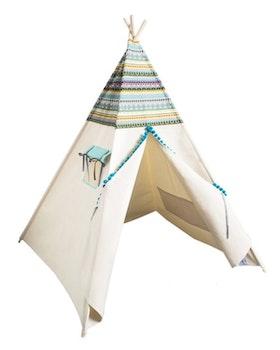 Takoda - blått Indiantält för barn