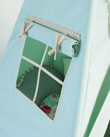 Groda - mint-grönt Lektält Tipi
