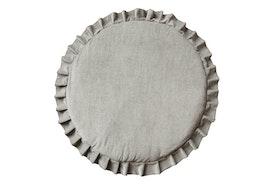 Hemma - grå lekmatta i sammet