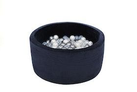 Misioo - blå bollhav i sammet