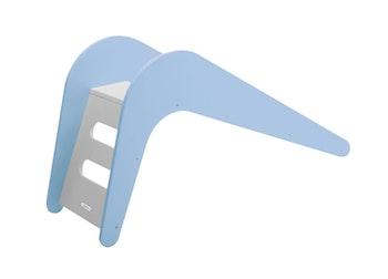 Blå inomhus rutschkana - Jupiduu