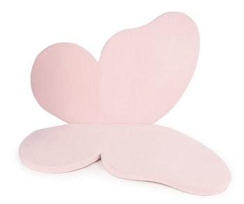 Rosa Fjäril - lekmatta för barn