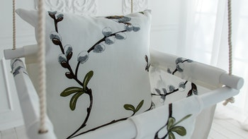 Närbild - textilmönster arvidssons textilier