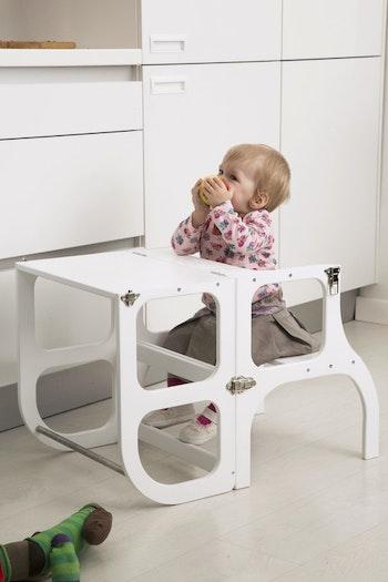 Learning tower - hjälpa till pall och barnbord från Only Handmade