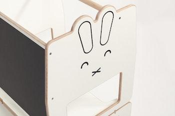 Kanin - hjälpa till pall - Stå upp & Sitt