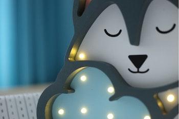 Nattlampa Varg för barn