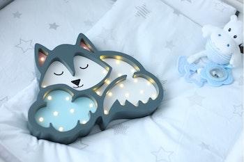 Nattlampa Varg för barn från Only Handmade