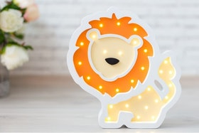 Lejon - nattlampa