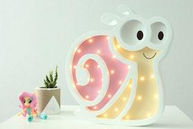 Lilla Snigel - nattlampa för barn