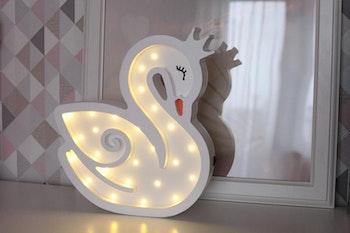 Svan - nattlampa för barn