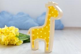 Giraff - barnlampa