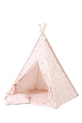 Tipi-tält - Rosé inkl barnmatta
