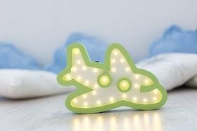 Flygplan - nattlampa för barn