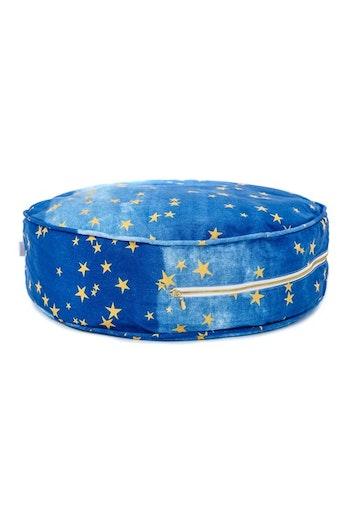 Mörk-blå golvkudde med gudliga stjärnor från Only Handmade - kollektion Natthimmel
