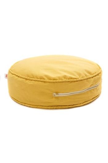 Solsken - gul golvkudde för barn och barnrummet