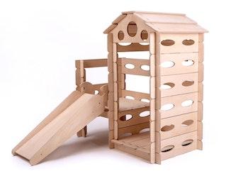 Montessori lekstuga för barn - använd inomhus