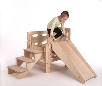 Montessori lekstuga inkl rutschkana